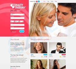 Matrimonial Landing Page Design
