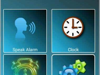 Spoken Alarm Setting