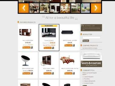 Magento Store - Furniture
