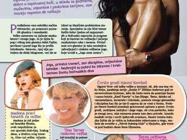 Kurir d.o.o. Courier Style magazine, Belgrade.