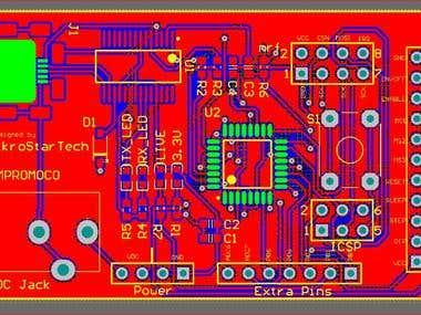 Motor Driver PCB baord