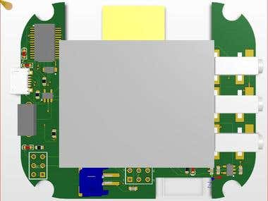 Bluetooth based LANC controller PCB design