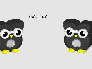 Toy Design :- OWL