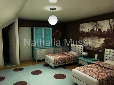 Architectural 3D modeling and rendering