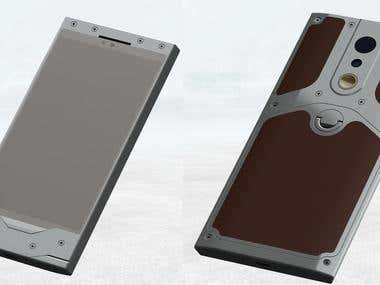 Luxury Phone : Conceptual design