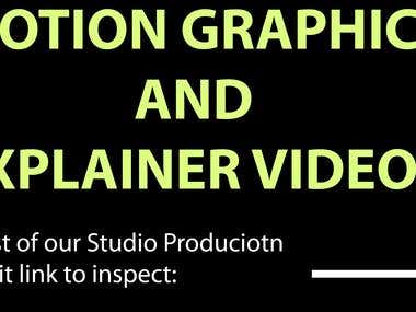 Here is Complete List Of Our Studio production and Animation