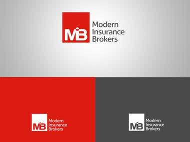 Logo Design for Modern Insurance Brokers MIB