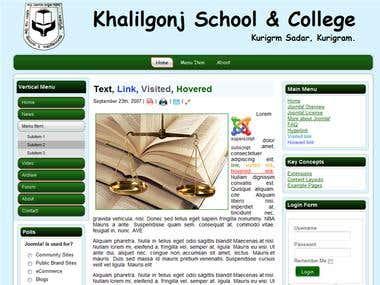 School Web Site