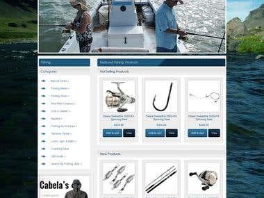 Fishing online soite on Woocommerce
