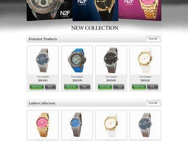 Watch Site on Woocommerce
