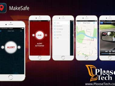 MakeSafe  >  iOS App
