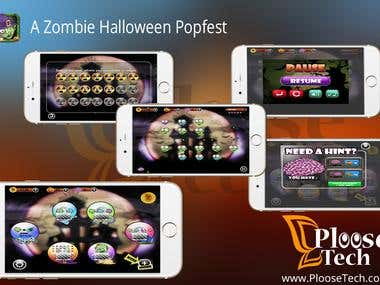 A Zombie Halloween Popfest Game > An iOS Game App