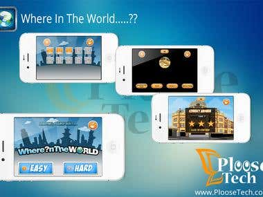 Where in the World > Guess Game > iOS & Android