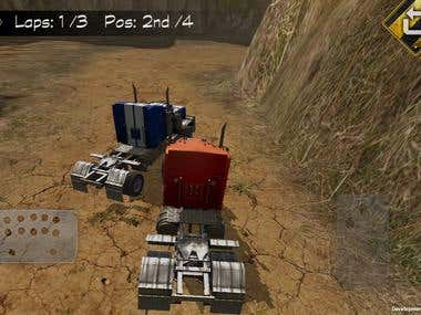 3D truc Race