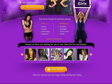http://www.sugarbaby4u.com/ Website Design