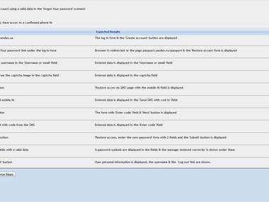 Test Cases preparation in TestLink