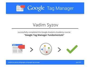 Google Tag Manager Fundamentals
