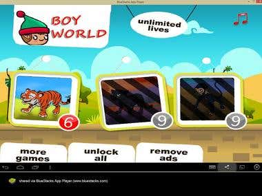 [Game] [iOS/Android] Boy World