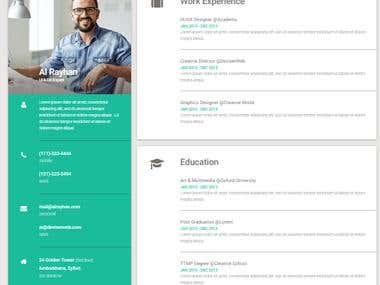 CV- Resume