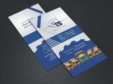 Brochure, Catalog & Flyer Design