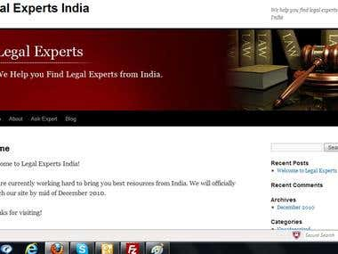 Legal Experts India