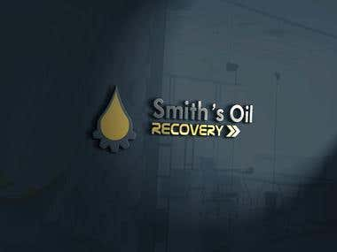 Logo realisation for a recovery oil company