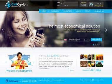 CallCeylon website