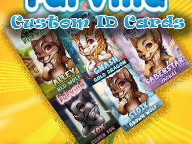 Web Banner design for FurVilla