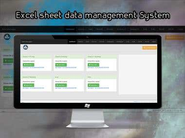 Excel Sheet Data Management System