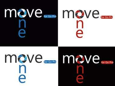 Projetar um Logo - MOVE ONE For GoPro. Be a HERO.