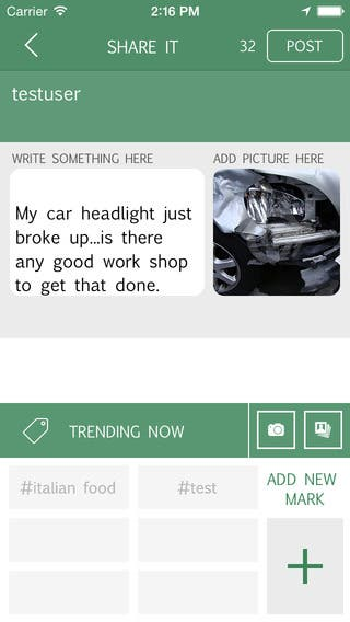 Smart Chat Mobile App: Explore Nearer Locations