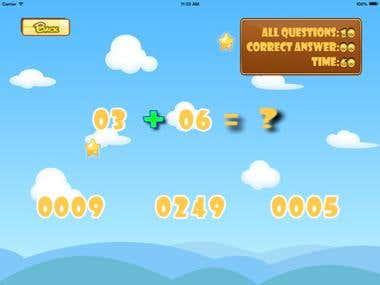 Math Game For School Children
