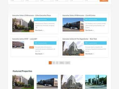 Real Estate Marketplace Website