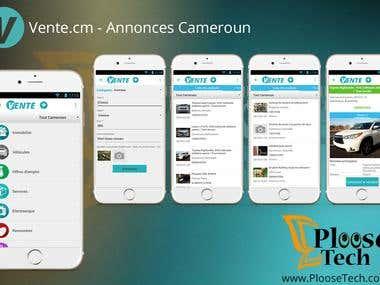 Vente.cm - Annonces Cameroun