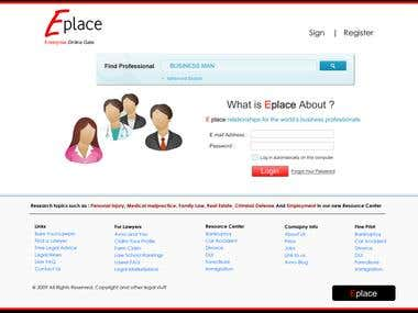 Eplace Professional Networking Portal
