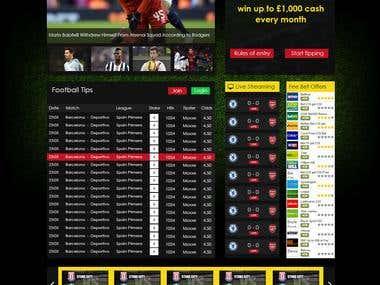Sports Website