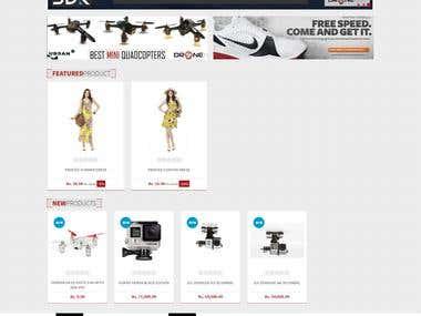 Dronehub.lk - Online Store