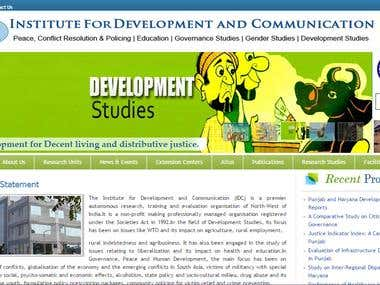 Institute of Development and Comminication (www.idcindia.org