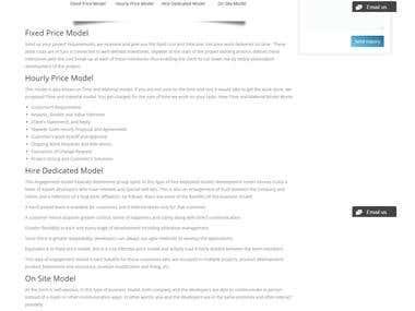 Service Based CMS Website Using - Wordpress