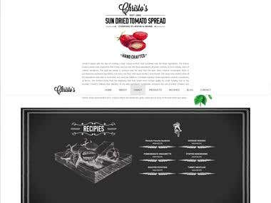 One Page Parallax Site