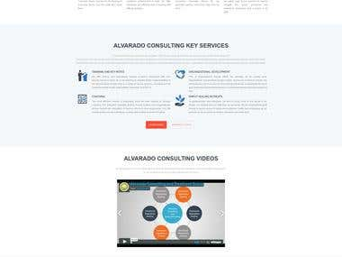 A Wordpress Responsive Site
