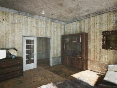 Abandoned House (game project)