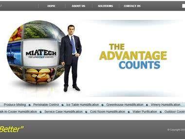 Homepage translation English to German