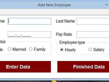 Payroll Program