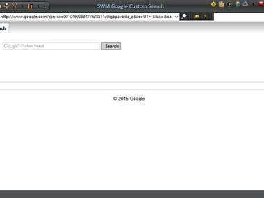 Desktop Web Browser Application