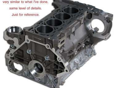 Reference for Aluminum die casting part