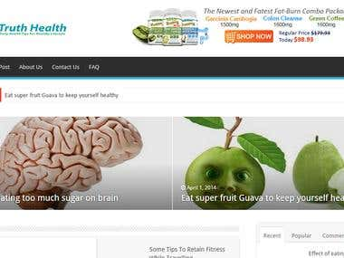 Health Consulting Website