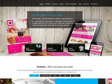 Develop Parallax Website