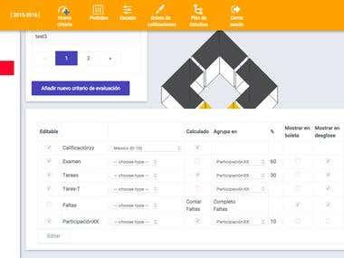 Angularjs/Bootstrap CRM app