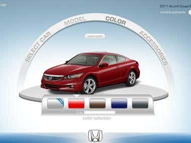 Honda Interactive Showroom